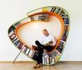 Уникален стол за почитателите на книгите