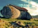 Каменна къща в Португалия