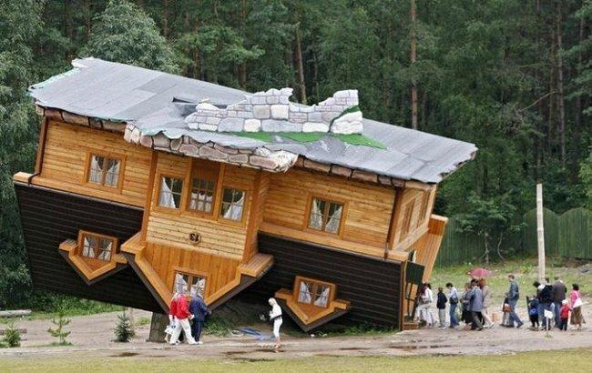 Upside down house - Shimbark